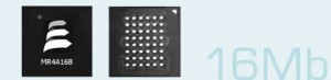 16Mb MRAM chips from Everspin
