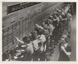 Photograph of Women Working at a Bell System Telephone Switchboard by US National Archives (cc) (from flickr)