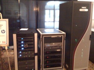 SNW hall servers and storage