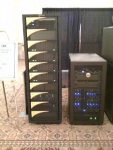 More SNW hall servers and storage