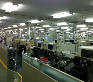 Hitachi's PCB line (c) 2011 Silverton Consulting, All Rights Reserved