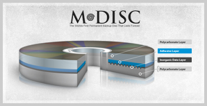 M-Disc (c) 2011 Millenniata (from their website)