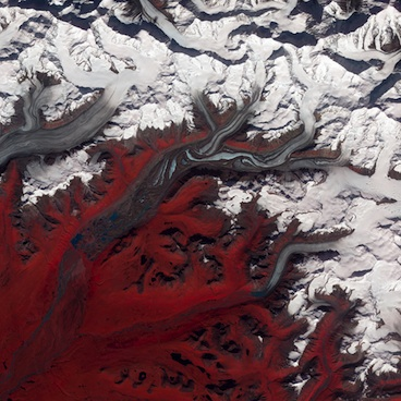 Susitna Glacier, Alaska by NASA Goddard Photo and Video (cc) (from Flickr)