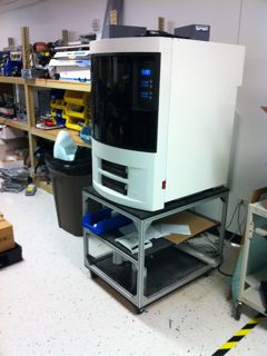 3D printer at Spectra Logic (for mechanical parts fabrication) (c) 2011 Silverton Consulting, All Rights Reserved