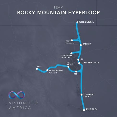 Hyperloop One in Colorado?